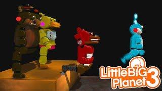FIVE NIGHTS AT FREDDYS DEATHRUN | LittleBIGPlanet 3 Gameplay (Playstation 4)
