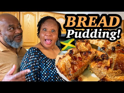 How to make Jamaican Bread Pudding! (Quick and EASY -with Bailey's Irish Cream!)   Deddy's Kitchen