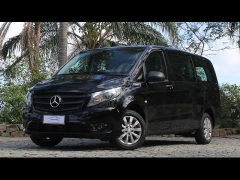 avalia o mercedes benz vito tourer 119 luxo 7 1 youtube. Black Bedroom Furniture Sets. Home Design Ideas