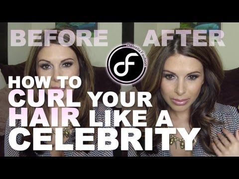 How to Curl Your Hair Like A Celebrity