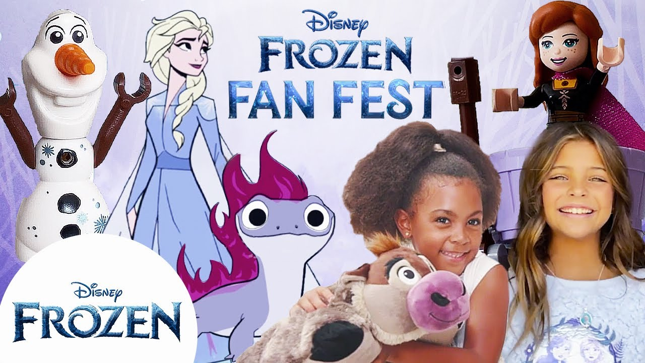 Disney's Frozen Fan Fest! | All Day Celebration with Frozen Crafts, Toys, and More! | Frozen
