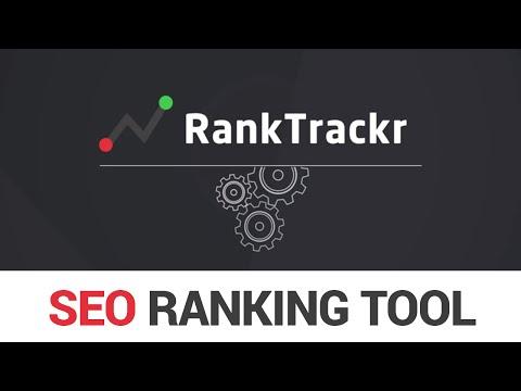 RankTrackr - Rank tracker for SEO professionals - YouTube