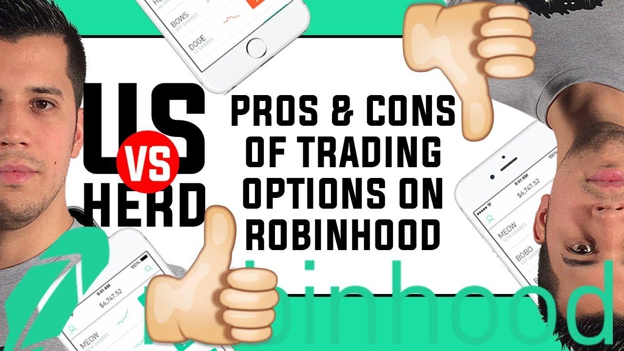 Trading options on robinhood