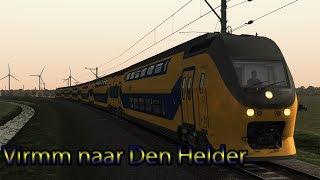 Met de VirmM naar Den Helder - Train Simulator 2019