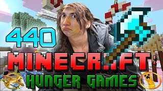 JEROME FAILS FUNNY! Minecraft: Hunger Games w/Mitch! Game 440