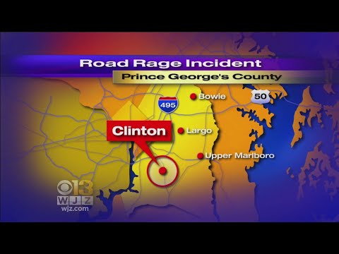 Man Charged With Assault In Road Rage Incident In Prince George's Co.