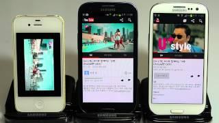 갤럭시S3 LTE vs 갤럭시S3 3G 속도비교_#4