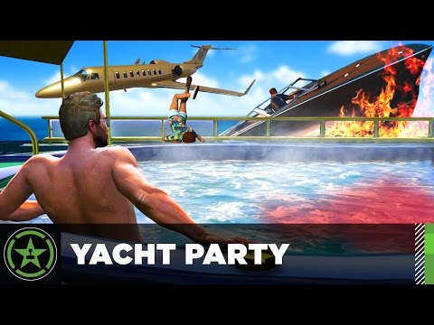 Let's Play: GTA V - Yacht Party