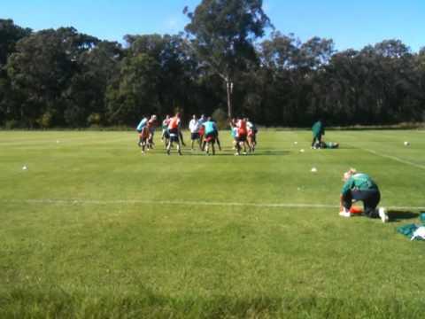 Australian Womens Football - Soccer Team Matildas in Training