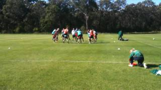 Australian Womens Football - Soccer Team Matildas in Training