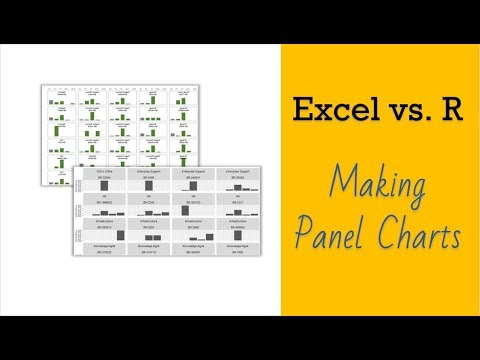 Making Panel Charts in Excel & R