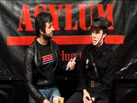 H.M.A.S. Vendetta vocalist William James Smith on Asylum TV Interview