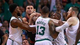 Jayson Tatum DESTROYS Cleveland!! Larry Nance Jr & Marcus Morris FIGHT! | Celtics vs Cavs Game 5!
