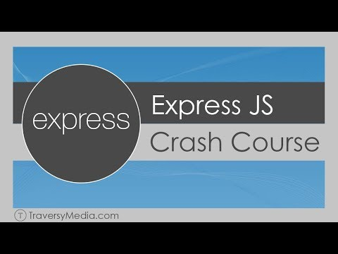 Express JS Crash Course