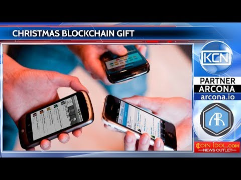 In the USA homeless people receive Christmas blockchain gift