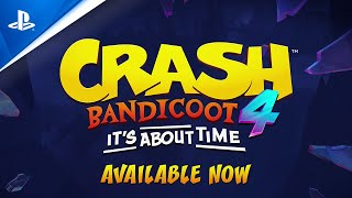 Crash Bandicoot 4: It's About Time   Accolades Trailer   PS4