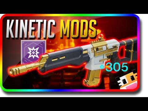 """Destiny 2 - How To Get """"Legendary Kinetic Mods"""" (Destiny 2 305+ Power Tip)"""