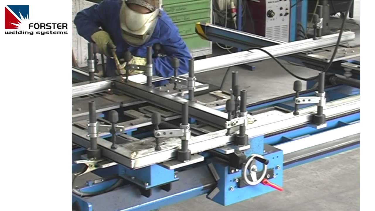 Frame Welding Fixture Part 2 Youtube