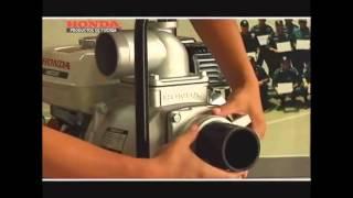 MOTOBOMBA HONDA INSTRUCTIVO (PRODUCTOS DE FUERZA HONDA) COMO USAR