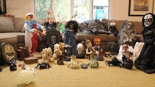 35+ Animatronic Collection of Small Props and Table Top Animatronics Spirit Halloween Express Target