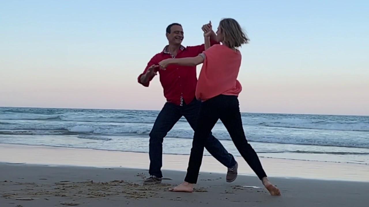 DANCING ON THE BEACH! - YouTube