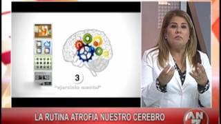 Profunda de atrofia crónico sustancia blanca isquémico cambio la y