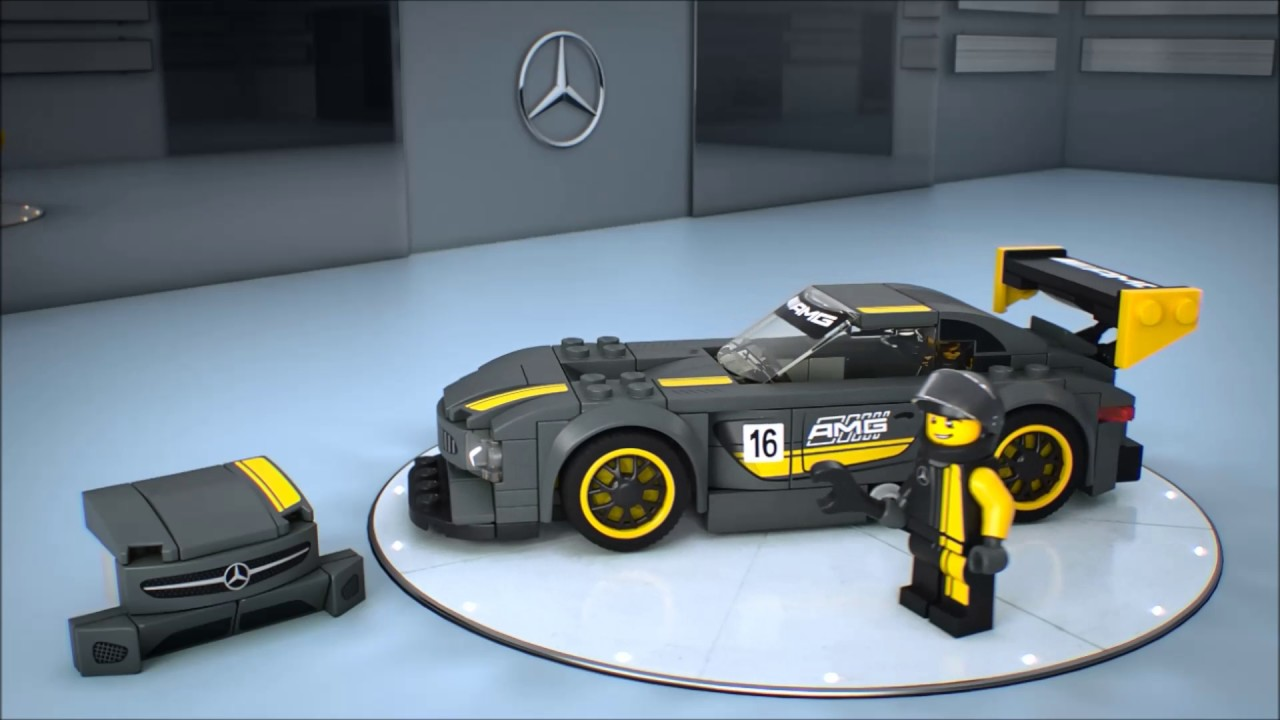 smyths toys lego speed champions mercedes amg gt3 75877. Black Bedroom Furniture Sets. Home Design Ideas
