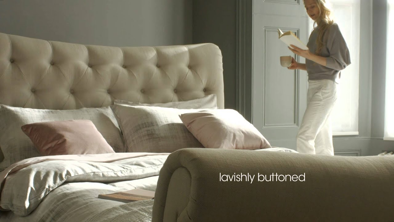 Furniture Village Beds upholstered bedroom furniture - chester | furniture village - youtube