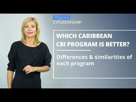 Which CBI passport is better? 👉 Comparison of passport programs - Caribbean countries & Vanuatu