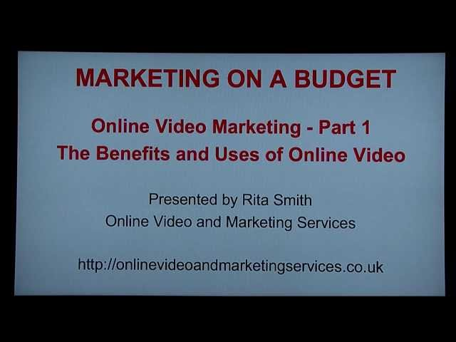 Marketing On A Budget episode 7 Online Video Marketing