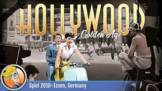 Hollywood Golden Age — game overview at SPIEL '18