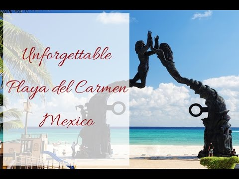Playa del Carmen Quintana Roo, Mexico. What to do and view of the beach.