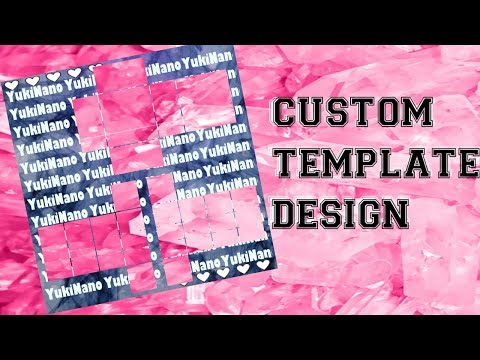 Custom template speed design
