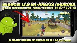 QUITAR LAG A CUALQUIER JUEGO EN ANDROID!!   NO ROOT   CREATIVE DESTRUCTION A 60 FPS CON 1 GB DE RAM!