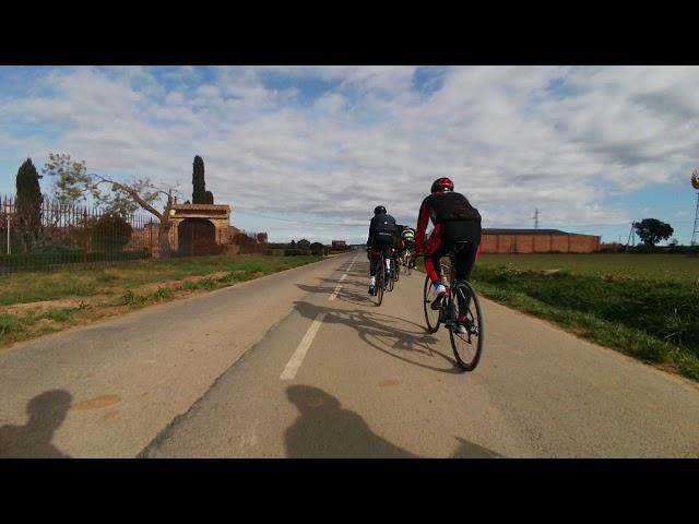 Espagne Estartit descente de peloton - 53douze XPLOVA GPS avec Caméra