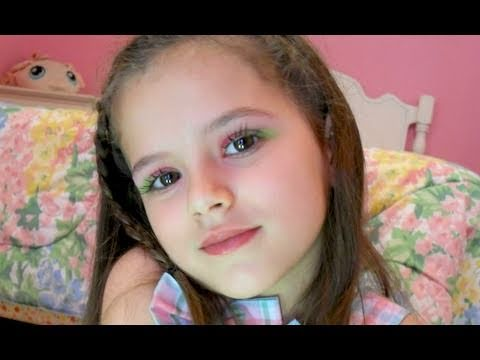 watermelon summer makeup tutorial for kidsemma cute 7