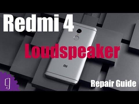 Xiaomi Redmi 4 Loudspeaker Repair Guide