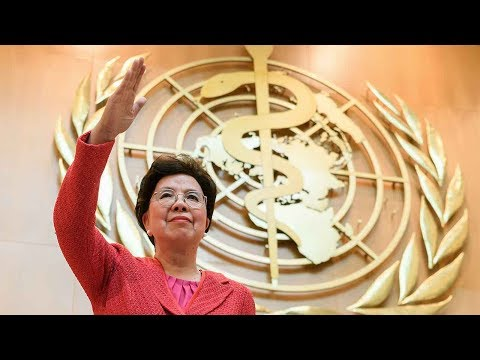 Outgoing WHO chief responds to criticism, targets disease eradication