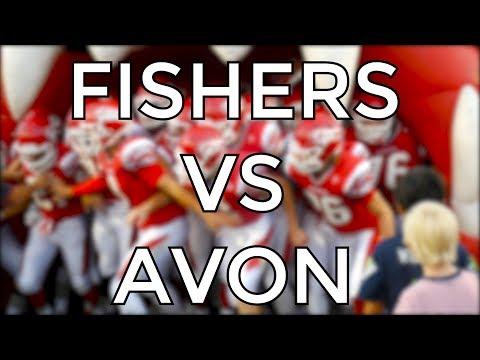 Fishers High School VS Avon High School Football Game 2017
