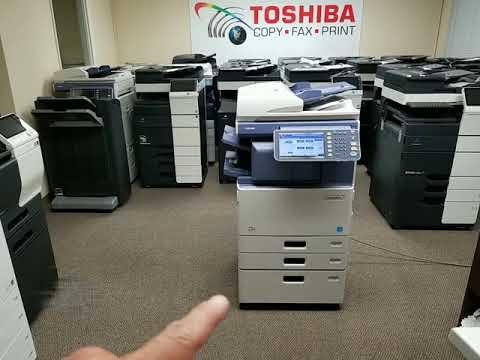 Review máy Photocopy Toshiba e studio 3555c