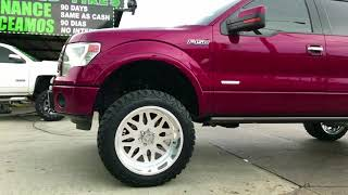 "Video 2014 FORD F150 On 22x12 American Force Wheels 6"" Rough Country Lift Kit (DJI OSMO MOBILE) download MP3, 3GP, MP4, WEBM, AVI, FLV Maret 2018"