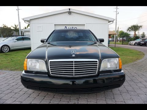 The Mercedes-Benz W140 S-Class Diesel Was Over-Sized, Over-Engineered, Over-Budget, And Awesome