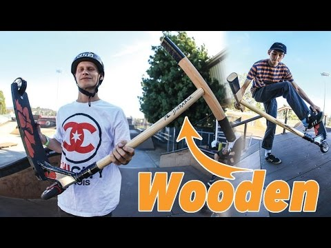 $5 WOODEN SCOOTER BARS?!
