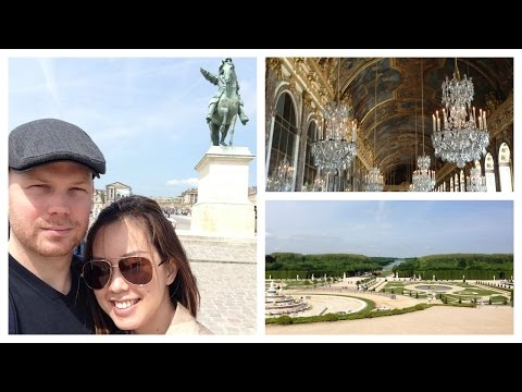 Paris Day 2 Touring The Palace of Versailles | MORE SEREIN