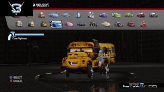 Cars 3: Driven to Win All unlocked + bonus