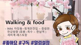 제니아줌마의 앞치마 영어_걷기 & 맛집 (Wal…