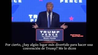 """Esto es lo que dijo Donald Trump sobre """"opresión"""" en Venezuela, 16 septiembre 2016 desde Miami"""