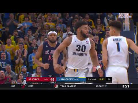 Marquette Courtside - Marquette gets swept by St. John's, loses Tuesday 70-69
