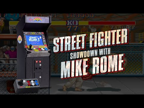 Street Fighter Showdown with Mike Rome   Sideshow Live Clips