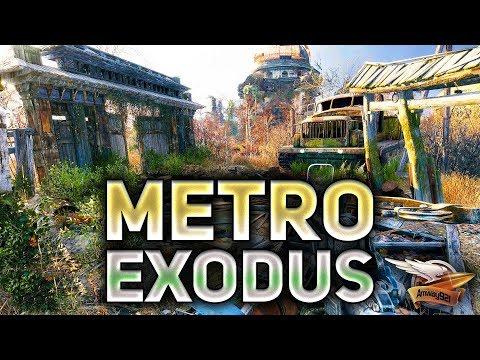 Metro Exodus - Метро Исход - Тайга - Прохождение - Часть 3